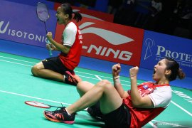 Bulutangkis Indonesia Masters, Siti/Ribka juara ganda putri