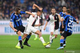 Juventus kembali geser Inter Milan dari pucuk klasemen