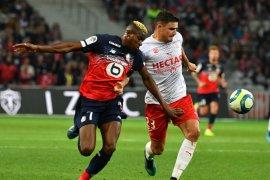 Liga Prancis - Lille ditahan imbang Nimes, Rennes dipecundangi Reims