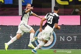 Juventus tumbangkan rekor tak terkalahkan Inter Milan dan rebut posisi puncak