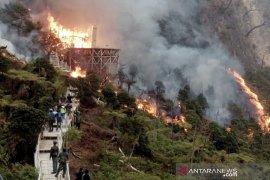 Ridwan Kamil minta Bupati Bandung atasi kebakaran lahan