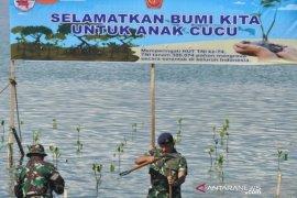 Tanam Mangrove di lokasi bekas tsunami Page 1 Small