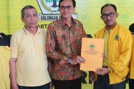 Empat orang calon kepala daerah terdaftar di Golkar Banjarmasin