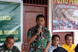 TNI AU minta para pengungsi sabar menunggu penerbangan Hercules