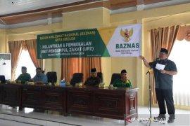 Wali kota minta zakat perbankan dan BUMN yang ada di Sibolga dikelola Baznas daerah