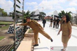 Taman makam pahlawan  Dharma Patria Jaya dijadikan tempat rekreasi