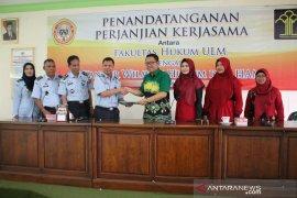Kemenkumham Kalsel-FH ULM tandatangani kerjasama bidang hukum