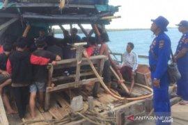 Polres Basel hentikan aktivitas tambang ilegal di Kolong Laut