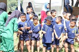 107 siswa SD Pengadilan 5 Bogor kunjungi Agroeduwisata Polbangtan Bogor