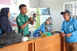 Mahasiswa Polbangtan Bogor kenalkan hidroponik ke petani