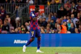 Dihukum,  Ousmane Dembele dipastikan absen pada El Clasico