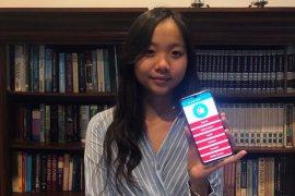 Caitlyn Audrey Prabowo, pelajar 16 tahun ciptakan aplikasi informasi penanganan kesehatan