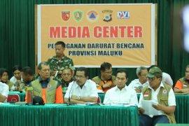 BNPB serahkan bantuan penanganan tanggap darurat bencana gempa di Maluku