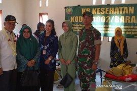 Bupati HST Canangkan Bhaksos TNI KB Kes