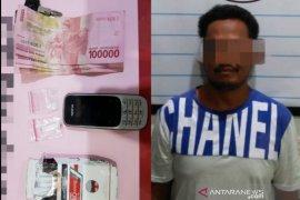 Inilah tersangka kasus narkoba yang ditangkap di Pantai Hambawang Timur