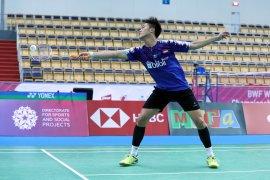 Yonathan dihentikan unggulan pertama di semifinal