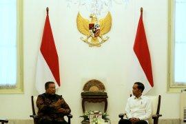 Jokowi terima kedatangan SBY