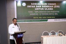 BMA ajak ulama sosialisasi  zakat