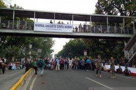 Terkait rencana aksi petani, polisi alihkan lalu lintas di sekitar Istana Presiden