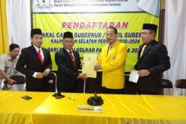 Empat kandidat ambil formulir pendaftaran  ke Golkar