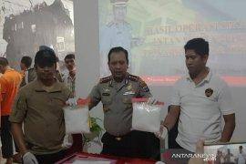 Ungkap kasus sabu-sabu 2,7 kg, Polresta Banjarmasin selamatkan 41.850 jiwa