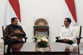 Jokowi dan SBY bahas kondisi politik bangsa