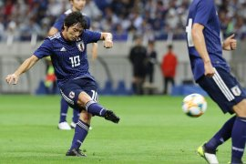Kualifikasi Piala Dunia, Jepang dan Kyrgizstan menang besar atas lawan-lawannya