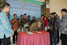 Sebanyak 15 Desa di Paser Deklarasi SBS