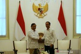 Prabowo tiba di Istana Merdeka