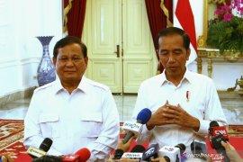 Jokowi - Prabowo bahas stabilitas keamanan dan politik