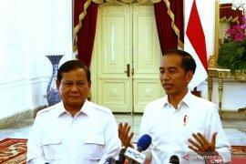 Jokowi dan Prabowo bahas potensi koalisi Gerindra