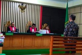 Terdakwa korupsi penghijauan Kabupaten Bungo dihukum setahun penjara