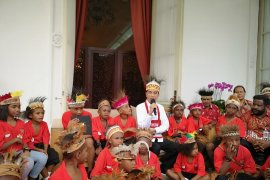 Jokowi pastikan tetap ada orang Papua di kabinet 2019-2024