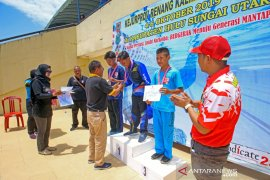 Tapin athletes collect 11 medals in S Kalimantan swimming championship