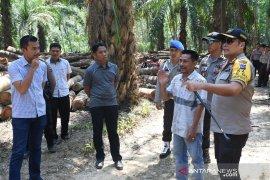 Polres Tala bongkar pembalakan liar rambah hutan Riam Adungan