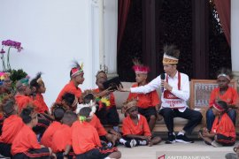 Presiden Jokowi penuhi janji ajak anak-anak Papua kunjungi Jakarta