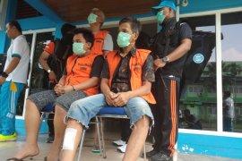 BNNP Jambi lumpuhkan dua pengedar sabu dengan tembakan