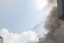 Wisma Indonesia di Bangkok Thailand terbakar