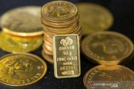 Emas berjangka berakhir turun 0, 6 dolar