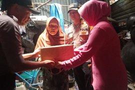 Polres Bangka Barat salurkan bantuan keluarga kurang mampu