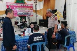 Polri berikan pengobatan gratis penyakit kudis warga binaan