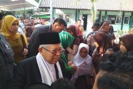 Ma'ruf Amin prihatin peristiwa penyerangan terhadap Wiranto di Pandeglang