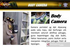 """Anggota Ditlantas Polda Metro dilengkapi """"body camera"""" melindungi diri"""