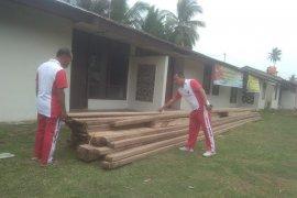 Polisi amankan kayu tak bertuan di Lengayang