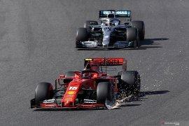 Leclerc kena penalti 15 detik setelah tabrak Verstappen di GP Jepang