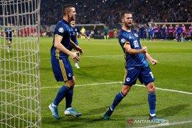 Kualifikasi Piala Eropa - Bosnia jaga peluang lolos, Liechtenstein raih poin perdana