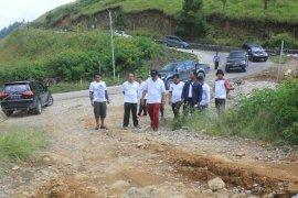 Bupati Samosir monitoring pembangunan fisik