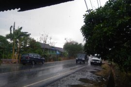 Hujan perdana mulai turun di Kabupaten Maros