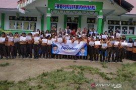 Ikatan Apoteker Aceh Jaya beri pemahaman penggunaan obat untuk anak SD