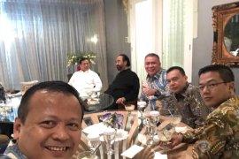 Prabowo disambut hangat di rumah Surya Paloh